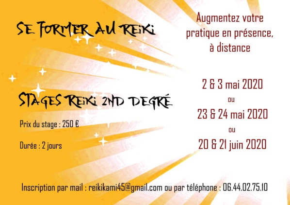stages reiki 2
