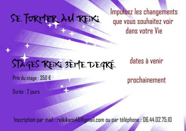 stages reiki 3